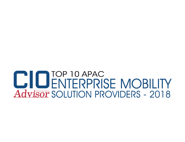 CIOAdvisor Enterprise Mobility Solution Provider-2018