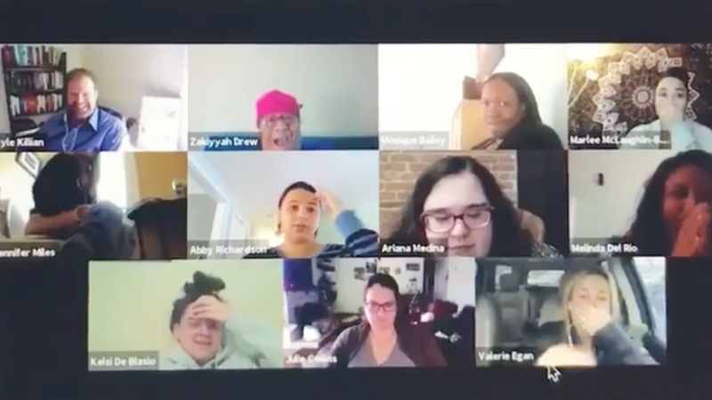 Work From Home Video Chat Mistake Goes Viral