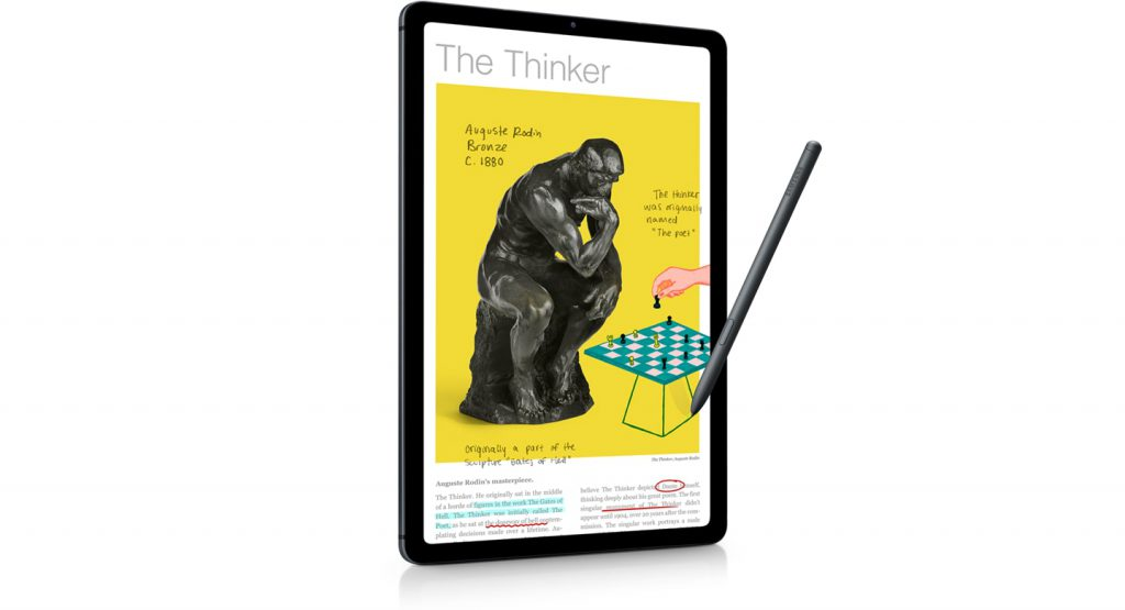 be innovative with smart tablet