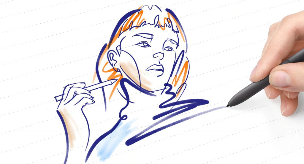 sketch and note down your notes with smart pen