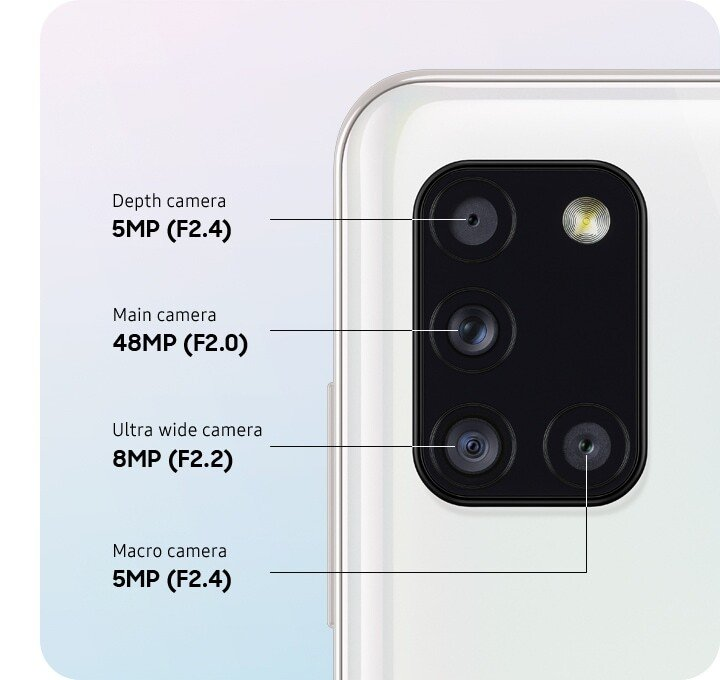 Quad cam to let experience more perspective of quality photo